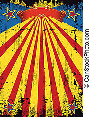 Super hero scratched background - A vintage 50's background...