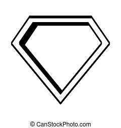 super hero shield pop art