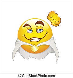 Super Hero Smiley Emoticons