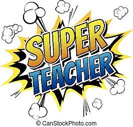 super, insegnante