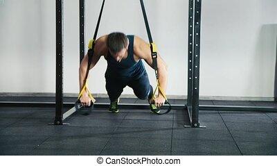 Super intensive training, push-ups