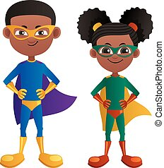 Super Kids Black