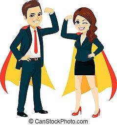 Super Powerful Business Team