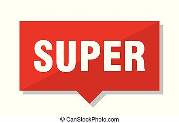 super red tag