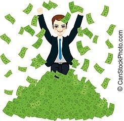Super Rich Successful Businessman