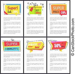 Super Sale -20 and Quality Vector Illustration