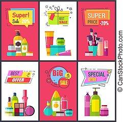 Super Sale and Best Price Vector Illustration