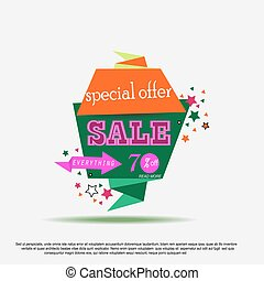 Super Sale Banner Design. Banner can use for promotion, promotional brochure or booklet, posters, advertising shopping flyers, discount banners. Vector illustration