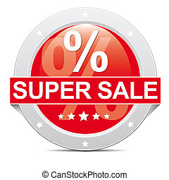 super sale button