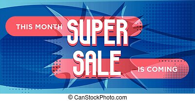 Super Sale For Web App Banner.