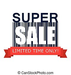 Super sale on barcode icon