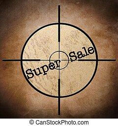 Super sale target