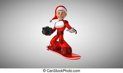 Super Santa Claus - 3D Animation