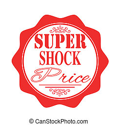 super shock price stamp