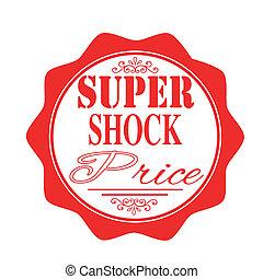 super shock price stamp