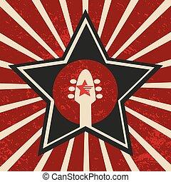 Super star banner - Music Festival poster concept. Design...