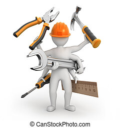 super universal repairman, image with a work path