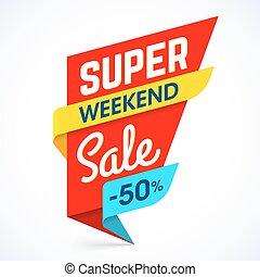 Super Weekend Sale banner