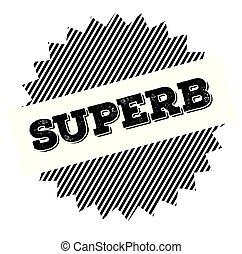 superb black stamp