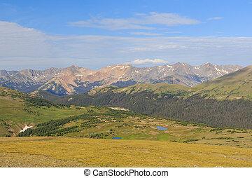 Superb landscape in Rocky Mountain National Park