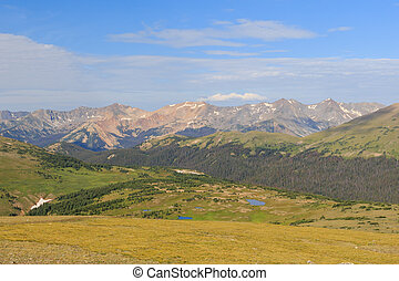 Superb landscape in Rocky Mountain National Park