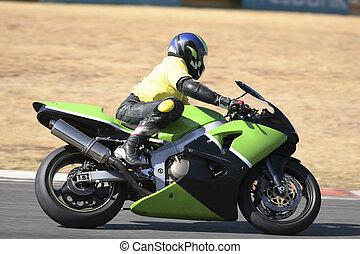 Superbike #52 - High speed Superbike on the circuit –...
