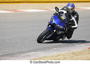 Superbike #54 - High speed Superbike on the circuit –...