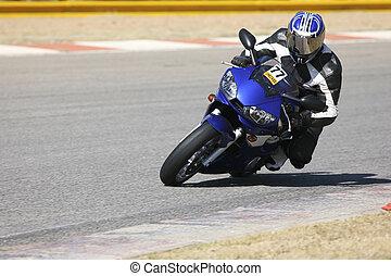Superbike #54 - High speed Superbike on the circuit – ...