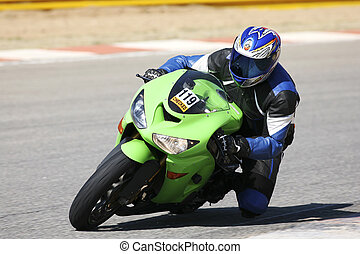 Superbike #56 - High speed Superbike on the circuit –...