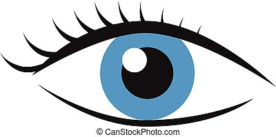 supercílios, olho