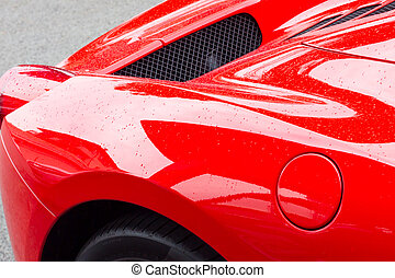 supercar, rouges