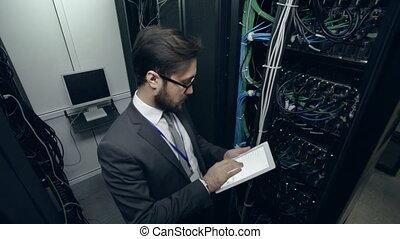 supercomputer, ispettore