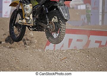 Supercross, Dirt Track Motorcycle Racing