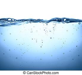 superfície, água