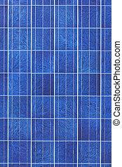 superfície solar, painel