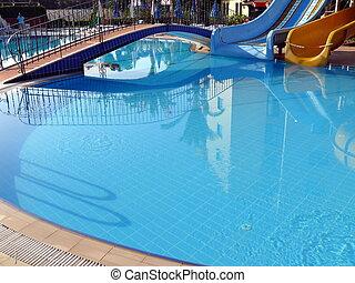 superfície, waterpool