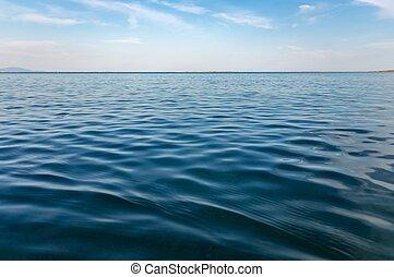 superficie acqua, waves., oceano