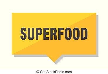 superfood, étiquette prix