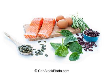 superfood, 蛋白質, 飲食