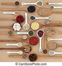 superfood, droog, sampler