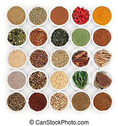 Superfood for Mens Health - Superfood and herb selection for...