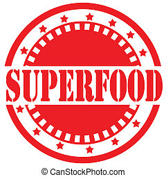 Superfood-label - Label with text Superfood, vector ...
