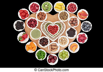 Superfood Selection - Health and superfood selection in...