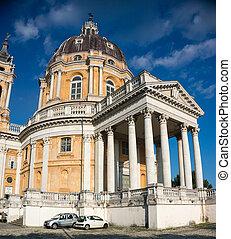 superga, トリノ, 教会