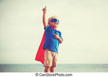 superhero , παιδί