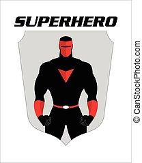 superhero., 戴面具, 充足