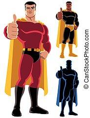 superhero, approvare