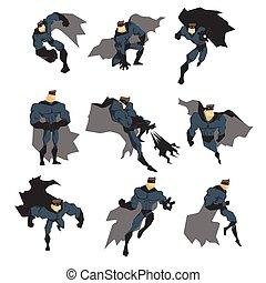 superhero, azione