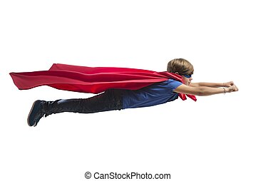superhero, barnet