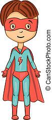 superhero, caricatura